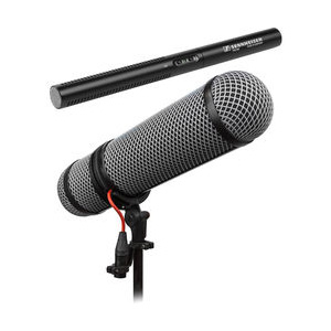 Sennheiser MKE600 Shotgun Microphone Kit with Rycote Super-Blimp
