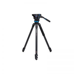 Benro Single Leg Series 3 Alum Video Kit 3 Sect S8 head