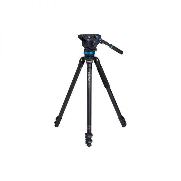 Benro Single Leg Series 3 Alum Video Kit 3 Sect S8 head