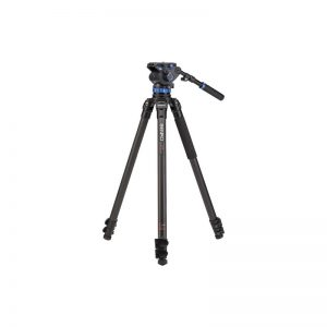 Benro Single Leg Series 3 Carbon Video Kit 3 Sect S7 head
