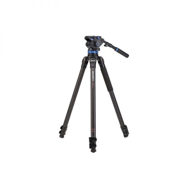 Benro Single Leg Series 3 Carbon Video Kit 3 Sect S7 head