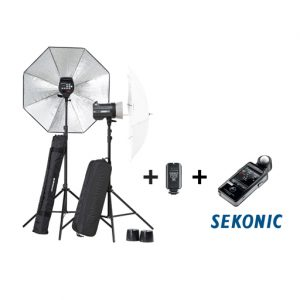 Elinchrom ELC Pro HD 500 Kit with Sekonic