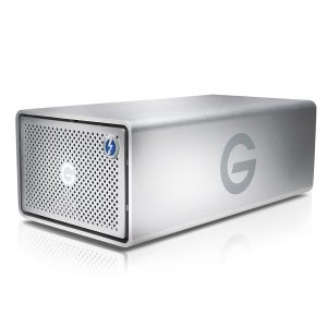 G-Technology G-SPEED Shuttle XL Thunderbolt 2 24000GB Black EMEA