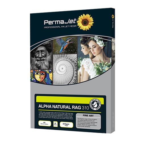 PermaJet Alpha Natural Rag 310
