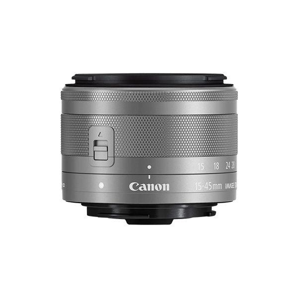 Canon EF-M 15-45mm f3.5-6.3 IS STM GRAPHITE Lens