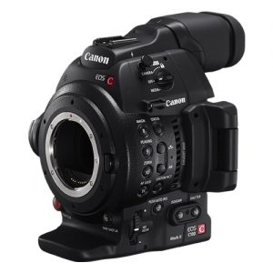 Canon C100 Mark II Cinema EOS Camera
