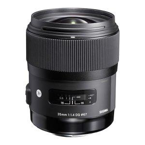 Sigma 35mm F1.4 DG HSM Lens