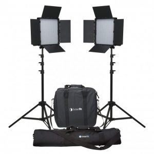 Interfit LM8 600BI LED 36w Bi-Colour Twin Kit