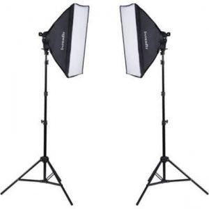Interfit F5 Two-Head Daylight Fluorescent Lighting Kit