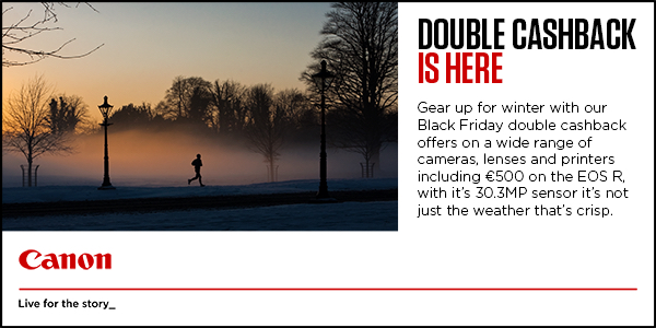 Canon Black Friday Double Cashback Offer