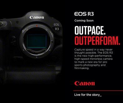Canon EOS R3 outpace outperform