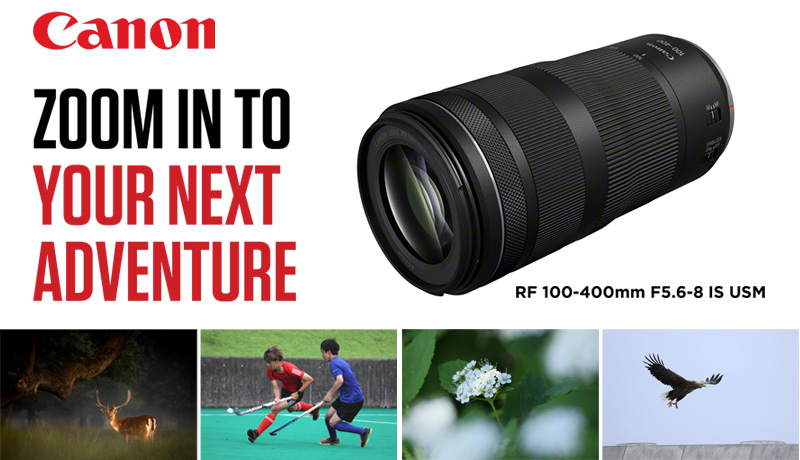 NEW Canon RF Lenses Launched