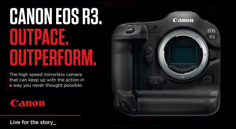 Canon EOS R3 Launch Sept 2021
